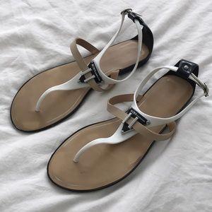 BCBG waterproof flat sandals